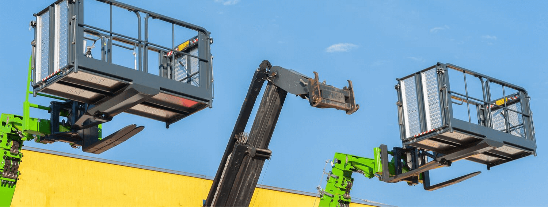 boom type elevating work platform